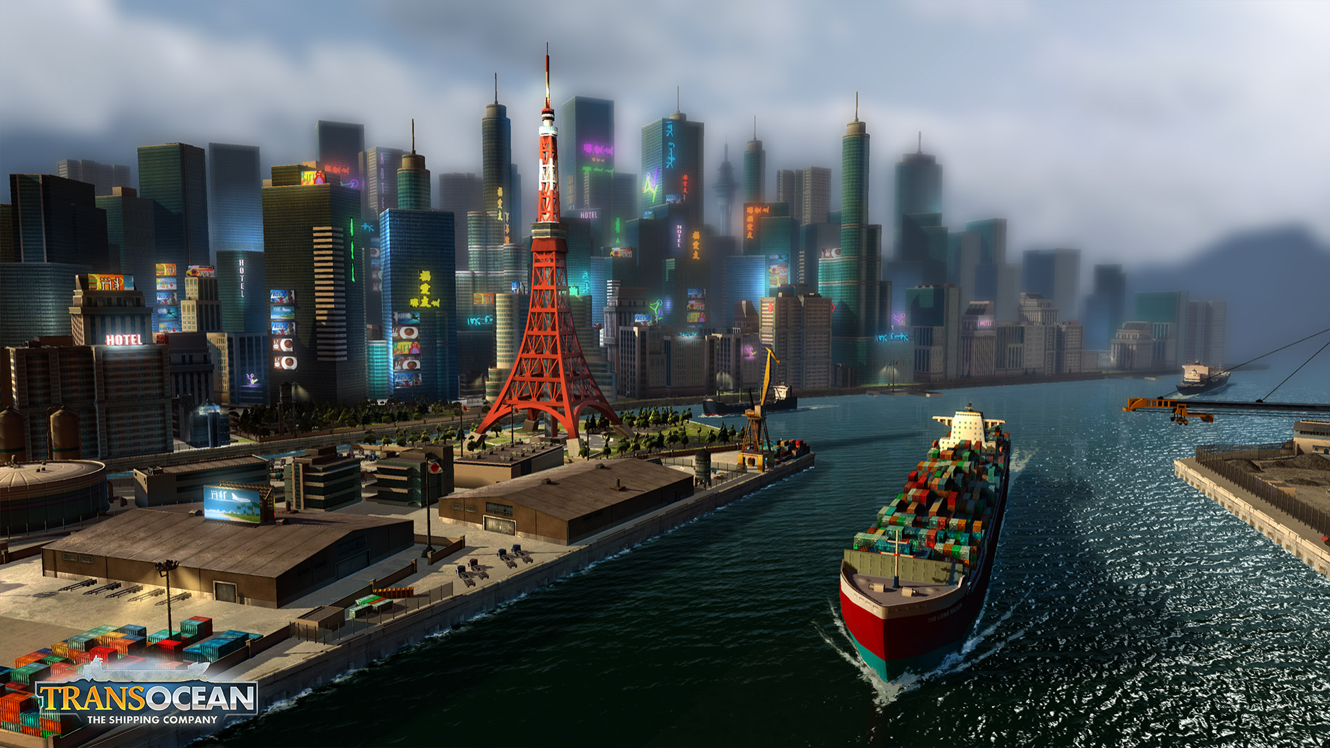 TransOcean: The Shipping Company - Screenshot 03