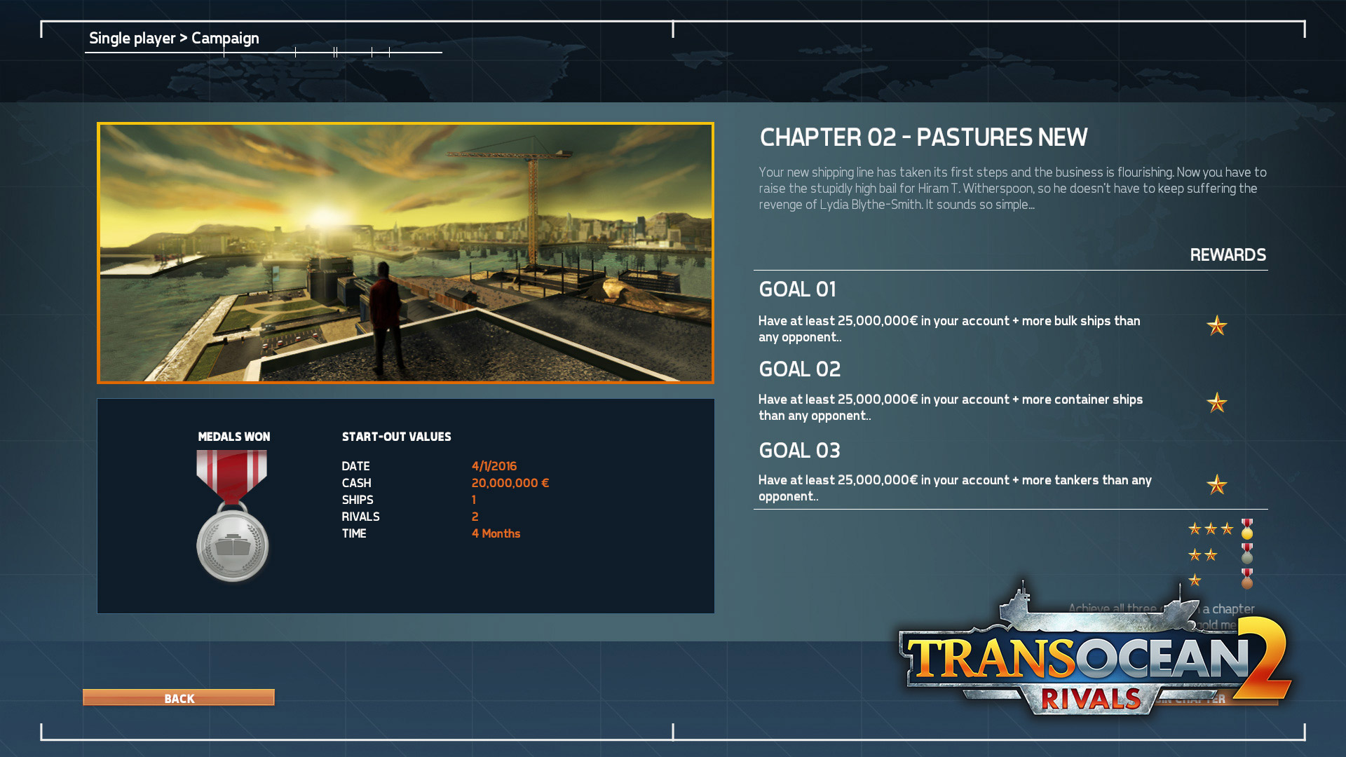 TransOcean 2: Rivals - Screenshot 01