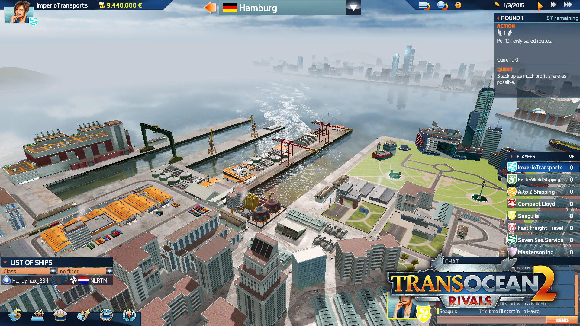 TransOcean 2: Rivals - Screenshot 04