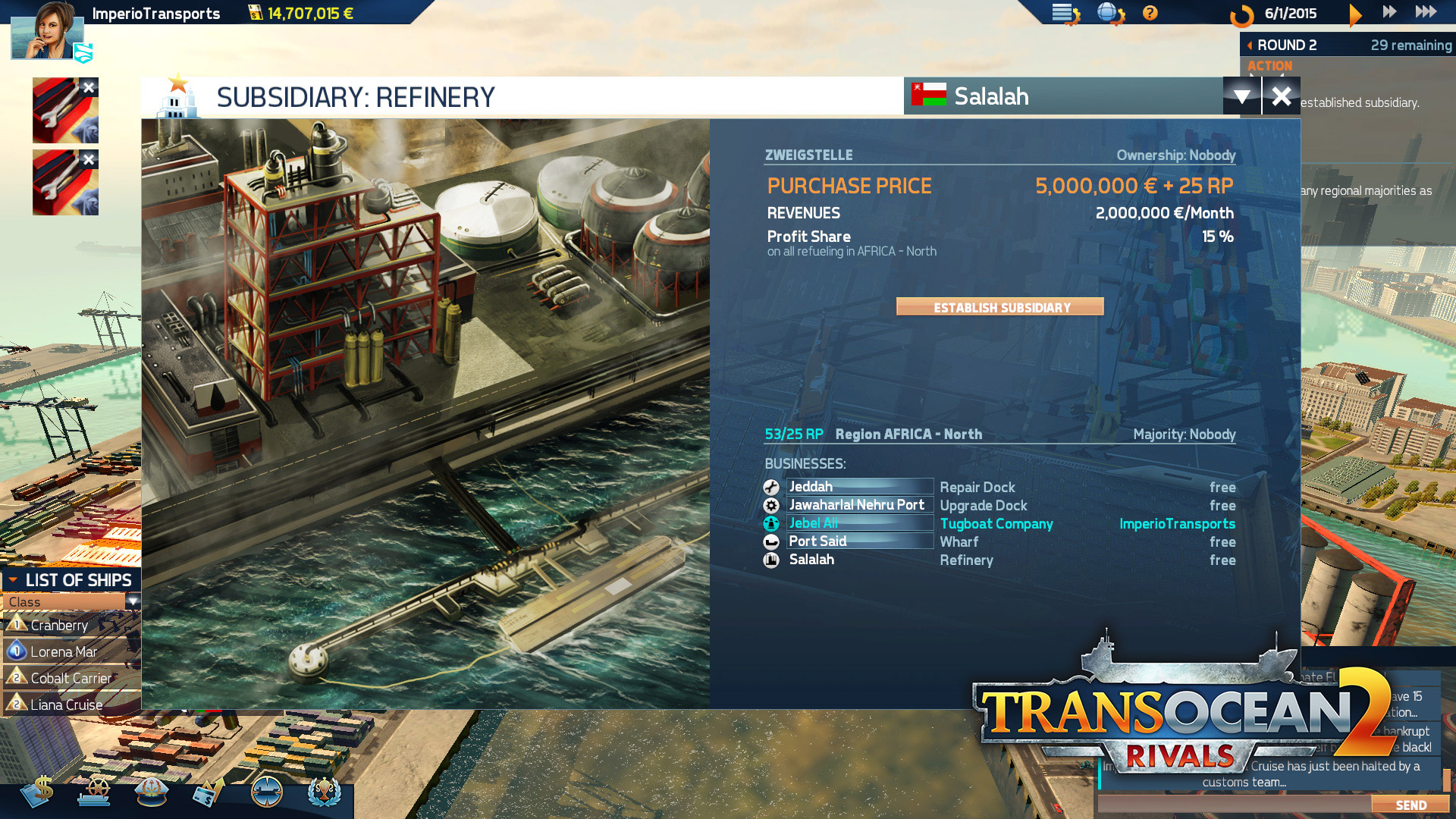 TransOcean 2: Rivals - Screenshot 06